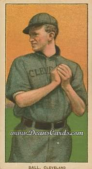 1909 T206 Reprint #16 CLE Neal Ball