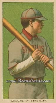1909 T206 Reprint #18  Jap Barbeau