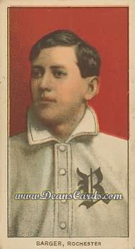1909 T206 Reprint #19  Cy Barger