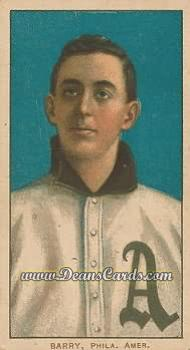 1909 T206 Reprint #20 PHL Jack Barry