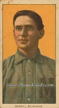 1909 T206 Reprint #21 MIL Shad Barry