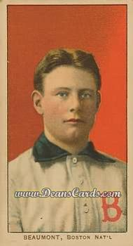 1909 T206 Reprint #26  Ginger Beaumont