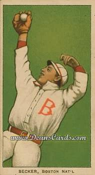1909 T206 Reprint #28  Beals Becker