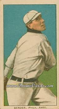 1909 T206 Reprint #32 xTRE Chief Bender