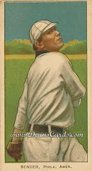 1909 T206 Reprint #33 TRE Chief Bender