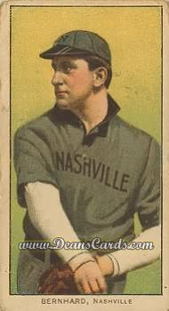 1909 T206 Reprint #38  Bill Bernhard