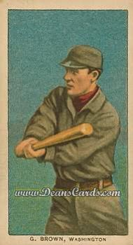 1909 T206 Reprint #56  George Browne