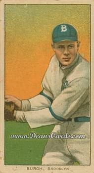 1909 T206 Reprint #61 FLD Al Burch