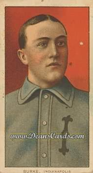 1909 T206 Reprint #63  Jimmy Burke