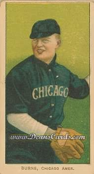 1909 T206 Reprint #64  Bill Burns