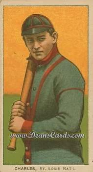1909 T206 Reprint #81  Chappie Charles