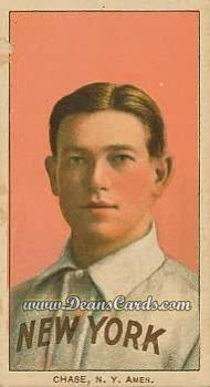 1909 T206 Reprint #85 PNK Hal Chase