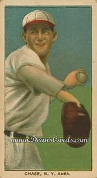 1909 T206 Reprint #86 WHI Hal Chase
