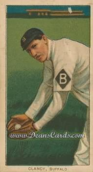 1909 T206 Reprint #89  Bill Clancy