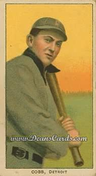 1909 T206 Reprint #96 ON Ty Cobb
