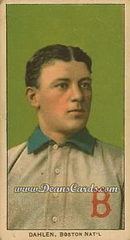1909 T206 Reprint #116 BOS Bill Dahlen