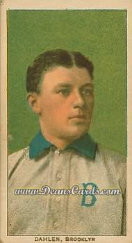 1909 T206 Reprint #117 BRK Bill Dahlen