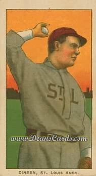 1909 T206 Reprint #129  Bill Dineen