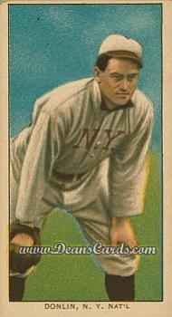 1909 T206 Reprint #130 FLD Mike Donlin