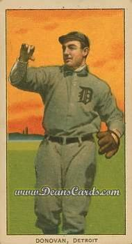 1909 T206 Reprint #135 THR Wild Bill Donovan