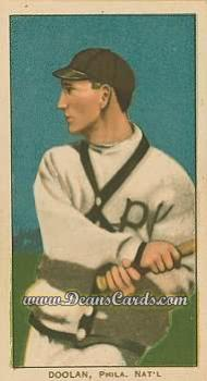 1909 T206 Reprint #137 BAT Mickey Doolan
