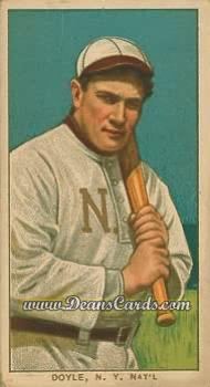1909 T206 Reprint #151 BAT Larry Doyle