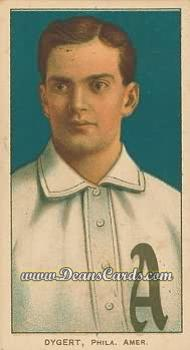 1909 T206 Reprint #157  Jimmy Dygert