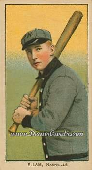 1909 T206 Reprint #163  Roy Ellam