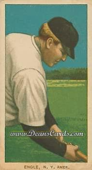 1909 T206 Reprint #164  Clyde Engle