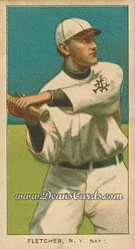 1909 T206 Reprint #175  Art Fletcher