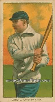 1909 T206 Reprint #183  Chick Gandil