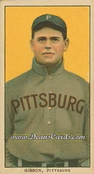 1909 T206 Reprint #188  George Gibson