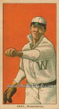 1909 T206 Reprint #193  Dolly Gray