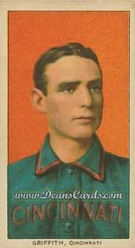1909 T206 Reprint #196 POR Clark Griffith
