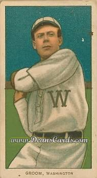 1909 T206 Reprint #198  Bob Groom