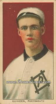 1909 T206 Reprint #199  Tom Guiheen