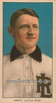 1909 T206 Reprint #204 LR Bill Hart
