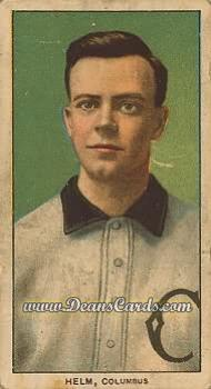 1909 T206 Reprint #208  J. Ross Helm