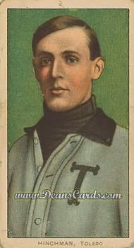 1909 T206 Reprint #214 TOL Harry Hinchman