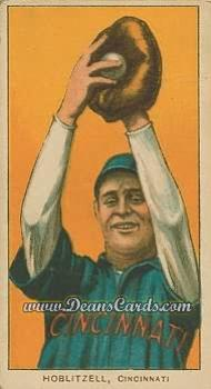 1909 T206 Reprint #215  Dick Hoblitzell
