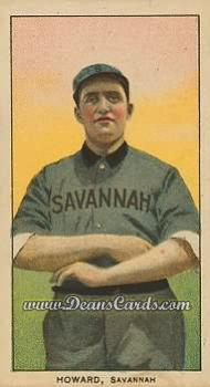 1909 T206 Reprint #221 SAV Ernie Howard