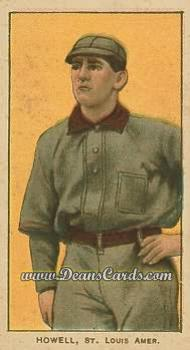 1909 T206 Reprint #222 WAI Harry Howell