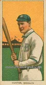 1909 T206 Reprint #228  George Hunter