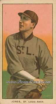 1909 T206 Reprint #240 STL Tom Jones
