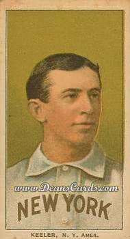 1909 T206 Reprint #247 POR Willie Keeler