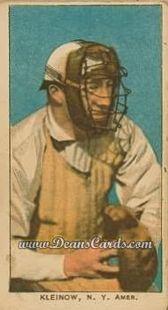 1909 T206 Reprint #256 NY Red Kleinow