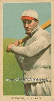 1909 T206 Reprint #257 BAT Red Kleinow