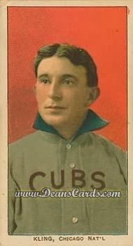 1909 T206 Reprint #258  Johnny Kling