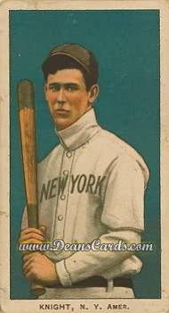 1909 T206 Reprint #261 BAT Jack Knight