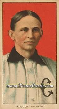 1909 T206 Reprint #267  Otto Kruger